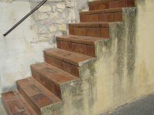 Carreler un escalier for Carrelage nez de marche escalier